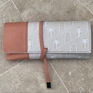 Anthropologie Small Wrap Clutch Bag
